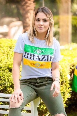 WORLD CUP | Blusa Brazil Bordada