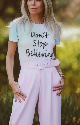 ESPECIAL SALE | T-shirt Don't Stop Believing