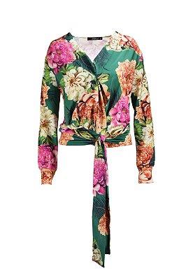 SPRING PREVIEW | Blusa Transpassada Estampa Floral Liberty