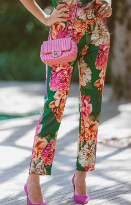 SPRING PREVIEW | Calça Estampa Floral Liberty