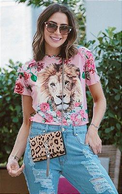 SPRING PREVIEW | Blusa Lion Flowers Bordada