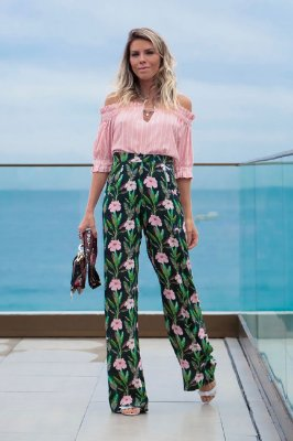 SPRING PREVIEW | Calça Estampa Flower Pink Pantalona