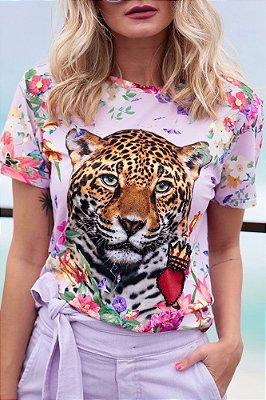 ESPECIAL SALE | Blusa Tigre Coração Coroa Bordado