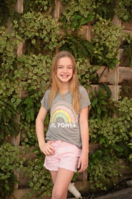 SPRING PREVIEW | T-shirt TEEN Girls Power Rainbow