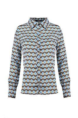 ESPECIAL SALE | Camisa Cetim Trevo