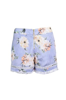TULUM COLLECTION | Shorts Yellow Garden