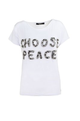 SUMMER PARADISE | Blusa Choose Peace Bordada