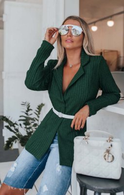 URBAN STYLE | Blazer Canelado Green Chic