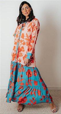 SPRING PREVIEW   Vestido Bicolor Rosário