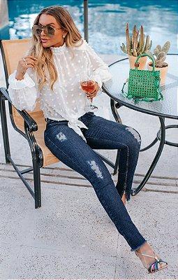 SPRING PREVIEW | Calça Jeans Puídos Skinny