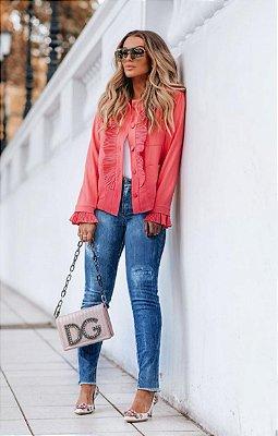 SPRING PREVIEW | Calça Jeans Skinny Destroyed