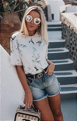 SANTORINI | Shorts Jeans Puído