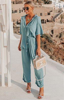 SANTORINI | Calça Perseu Azul