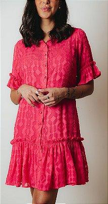 SANTORINI | Vestido Pink Antusa