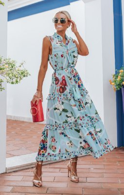 OCEAN VIEWS | Vestido Regata Milagres