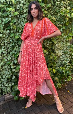 SPECIAL HOLIDAYS | Vestido Orange Summer