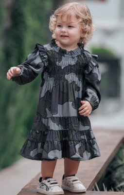 NYC COLLECTION | Vestido Blessinha Camouflage