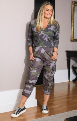 NYC COLECTION   Calça Camouflage