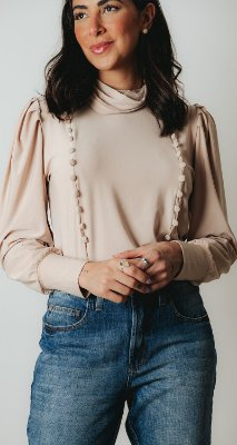 NYC COLLECTION | Blusa Gola Ellie