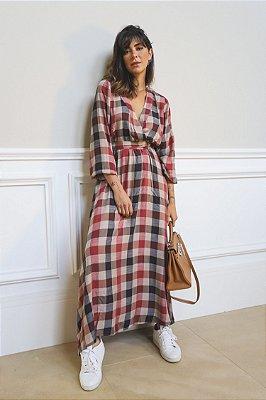 Vestido Longo Carlota Du Vin | L'AMOUR COLLECTION