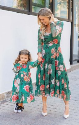 Vestido Infantil Floral Monet Blessinha | BLESSED ART