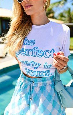T-shirt Francine Azul | RIVIERA FRANCESA