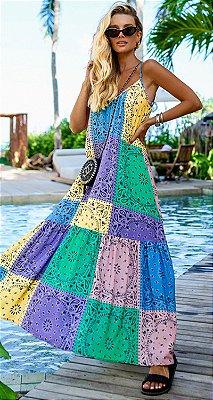 Vestido Longo Kemilly | RIVIERA FRANCESA