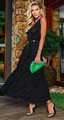 Vestido Coralie fios e brilhos| RIVIERA FRANCESA