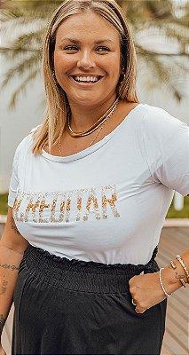 T shirt Gola Canoa Bordado Acreditar | RIVIERA FRANCESA