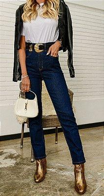Calça Jeans Cintura Alta Nara | DNA BLESSED