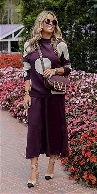 Conjunto Saia & Blusa Tricot Marlene | WINTER BLESSED