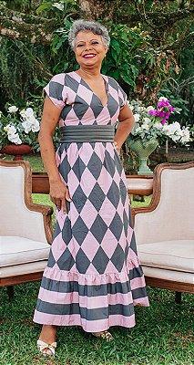 Vestido Losango Sarah | WINTER BLESSED