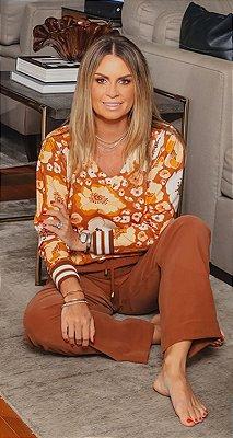 Blusa Decote V Margareth | WINTER BLESSED