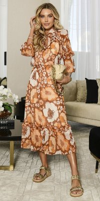 Vestido Midi Fio Lurex Margareth | WINTER BLESSED