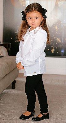 Camisa Tricoline Infantil Blessinha Helena | DNA BLESSED