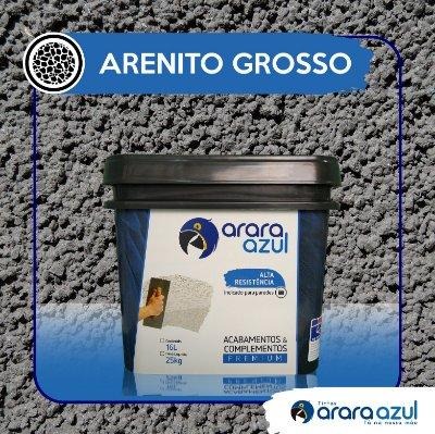 ARENITO GROSSO ARARA AZUL