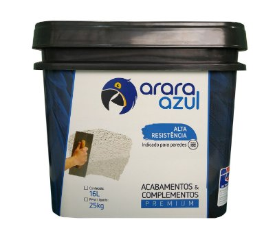 ARENITO MÉDIO GLITZ ARARA AZUL