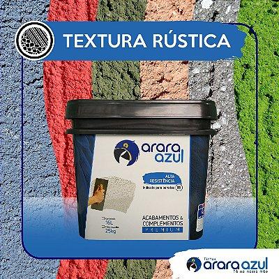 TEXTURA RÚSTICA ARARA AZUL #08