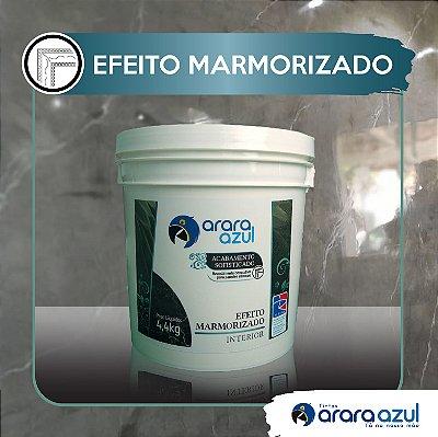 EFEITO MARMORIZADO ARARA AZUL