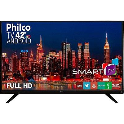 Smart Tv Led 42 Philco Ph42f10dsgwa 2 Hdmi 2 Usb Função DNR