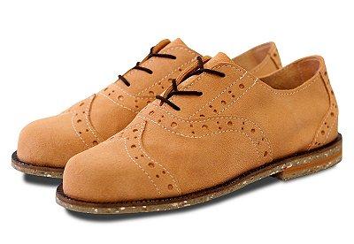 Sapato Oxford Gasp Pêssego