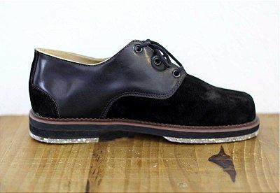 Sapato Derby Preto