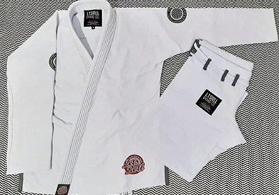 Kimono Trançado Lets Roll COMP Branco