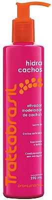 ATIVADOR MODELADOR DE CACHOS HIDRA CACHOS TRATTABRASIL, 290ML