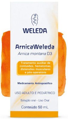 Arnica Weleda D3 Líquido, 50ml