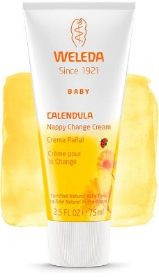 Calêndula Babycreme Weleda - Troca Fralda, 75 ml