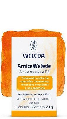 Arnica Weleda D3, Glóbulos 20 gr