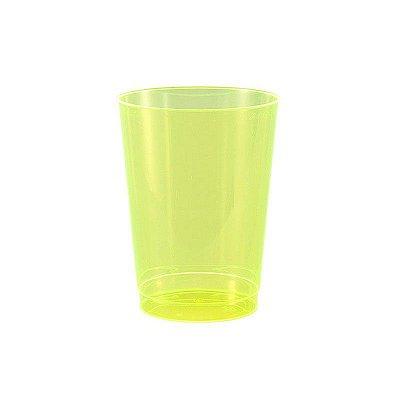 Copo de Plástico Verde Limão 295ml