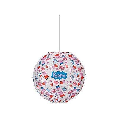 Lanterna de Papel  20cm - Peppa Pig