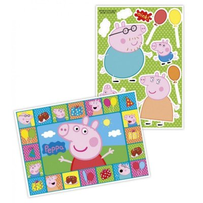 Kit Painel Decorativo Cartonado Peppa Pig